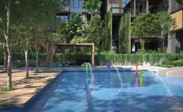Parc Komo Kids Pool Singapore