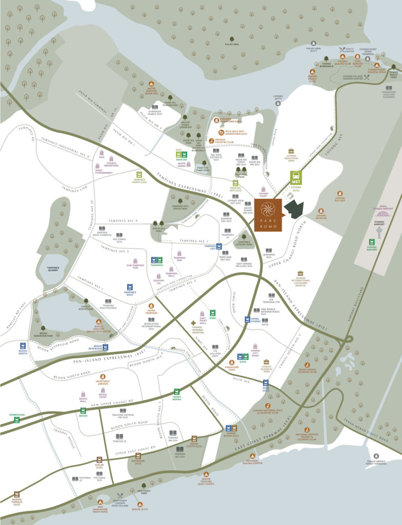 Parc Komo Location Map Singapore