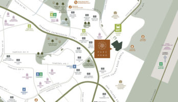 Parc Komo Location Map Small Singapore